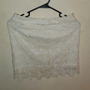 A miniskirt